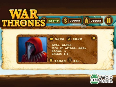 Скриншот War Of Thrones Pro №2