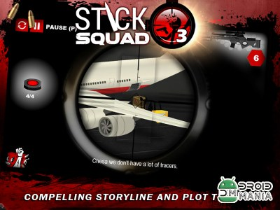 Скриншот Stick Squad 3 - Modern Shooter №4
