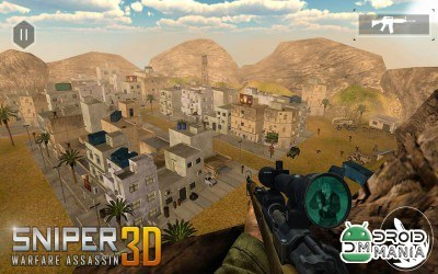 Скриншот Sniper Warfare Assassin 3D №2