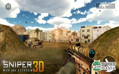 Скриншот Sniper Warfare Assassin 3D №4