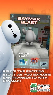 Скриншот Big Hero 6: Baymax Blast №1