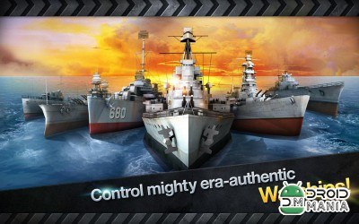 Скриншот WARSHIP BATTLE: 3D World War II №2