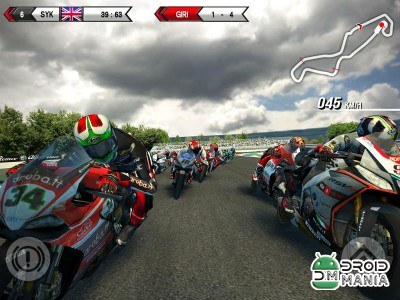 Скриншот SBK15 Official Mobile Game №1