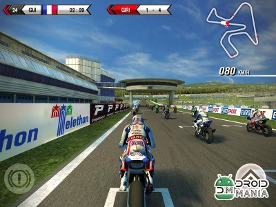 Скриншот SBK15 Official Mobile Game №2