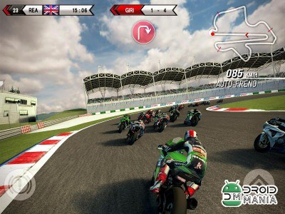 Скриншот SBK15 Official Mobile Game №3