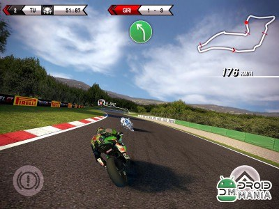 Скриншот SBK15 Official Mobile Game №4