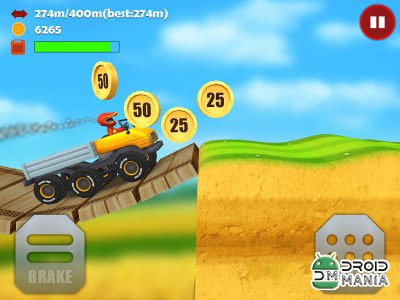 Скриншот Hill Racing 3D: Uphill Rush №2