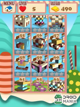 Скриншот Sugar Cubes SMASH block puzzle №2