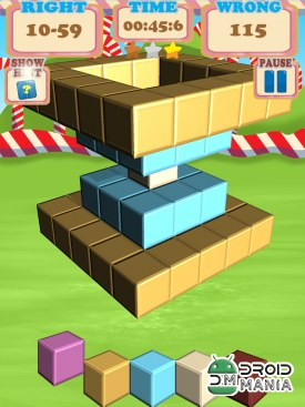 Скриншот Sugar Cubes SMASH block puzzle №3