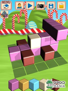 Скриншот Sugar Cubes SMASH block puzzle №4