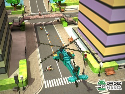 Скриншот Blocky Copter in Compton №3