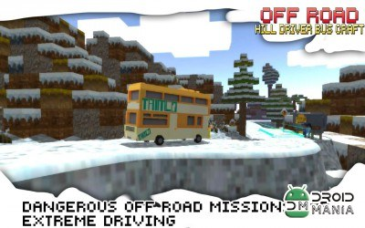 Скриншот Off-Road Hill Driver Bus Craft №2