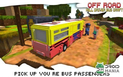 Скриншот Off-Road Hill Driver Bus Craft №3