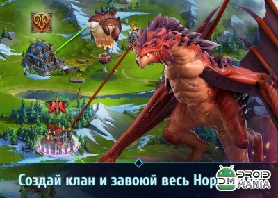 Скриншот Nords: Heroes of the North №4