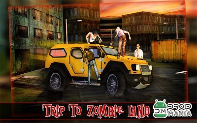 Скриншот Zombie Escape Driving 3D №2