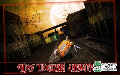 Скриншот Zombie Escape Driving 3D №4