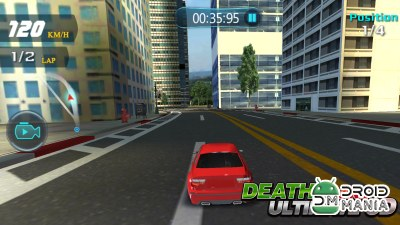 Скриншот Death Driving Ultimate 3D №1