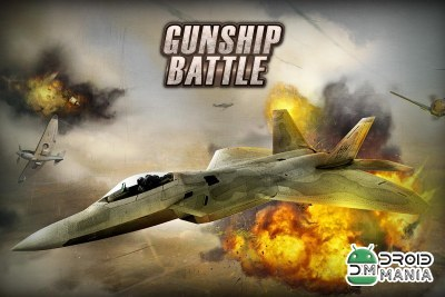 Скриншот GUNSHIP BATTLE: Helicopter 3D №1