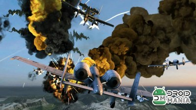 Скриншот Call of Infinite Air Warfare №1