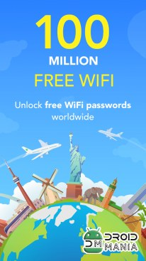 Скриншот WiFi Map — Free Passwords & Hotspots №1