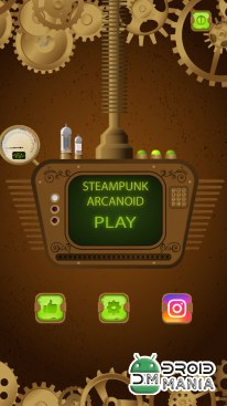 Скриншот Steampunk Breaker - Arkanoid №1