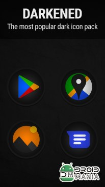 Скриншот Stealth Icon Pack №1
