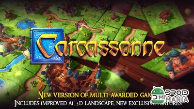 Скриншот Carcassonne: Official Board Game -Tiles & Tactics №1