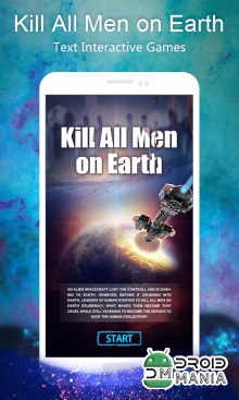 Скриншот Kill All Men on Earth: Text Interactive Games №1
