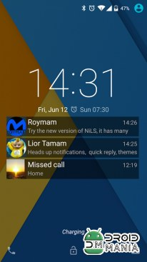 Скриншот NiLS Lock Screen Notifications №1