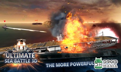Скриншот Ultimate Sea Battle 3D №1