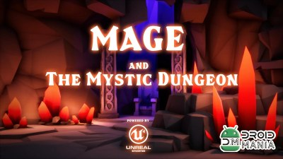 Скриншот Mage and The Mystic Dungeon №1
