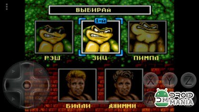 Скриншот Battletoads and Double Dragons №2