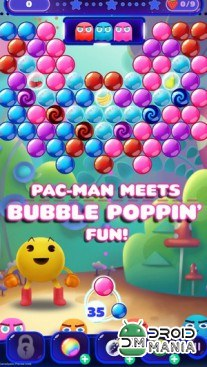 Скриншот PAC-MAN Pop - Bubble Shooter №1