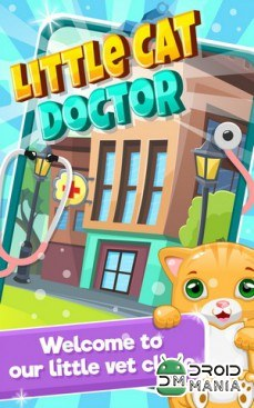 Скриншот Little Cat Doctor: Pet Vet Game / Ветеринар для кошек игра №1