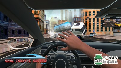 Скриншот Real Traffic Driver Online 2018 №1