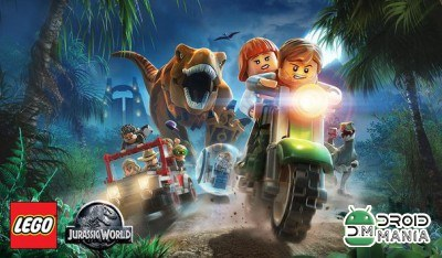 Скриншот LEGO Jurassic World №1