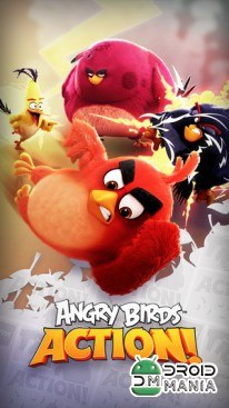 Скриншот Angry Birds Action! №1
