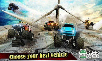 Скриншот Monster Truck Derby 2016 №1