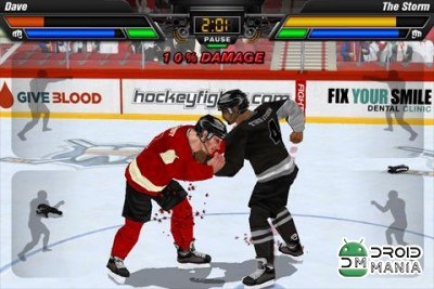 Скриншот Hockey Fight Pro №2