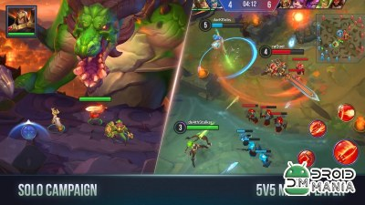Скриншот Dungeon Hunter Champions: Mobile RPG with MOBA №1