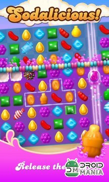 Скриншот Candy Crush Soda Saga №1