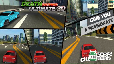 Скриншот Death Driving Ultimate 3D №2