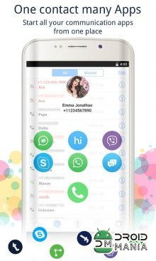 Скриншот Caller Screen Dialer Caller ID №2
