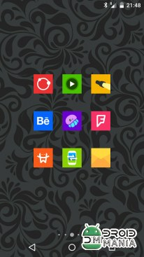 Скриншот Goolors Square - icon pack №2