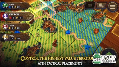 Скриншот Carcassonne: Official Board Game -Tiles & Tactics №2