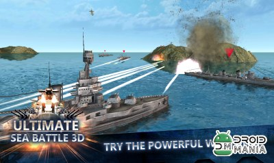 Скриншот Ultimate Sea Battle 3D №2