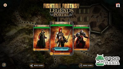 Скриншот Fighting Fantasy Legends Portal №2