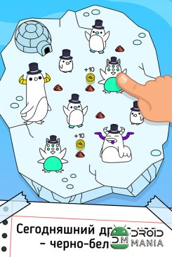 Скриншот Penguin Evolution - Clicker №2
