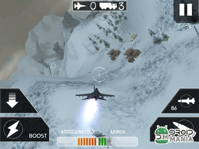 Скриншот Airplane Flight Battle 3D №2