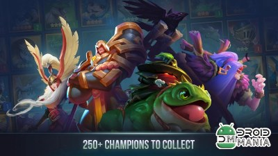 Скриншот Dungeon Hunter Champions: Mobile RPG with MOBA №2